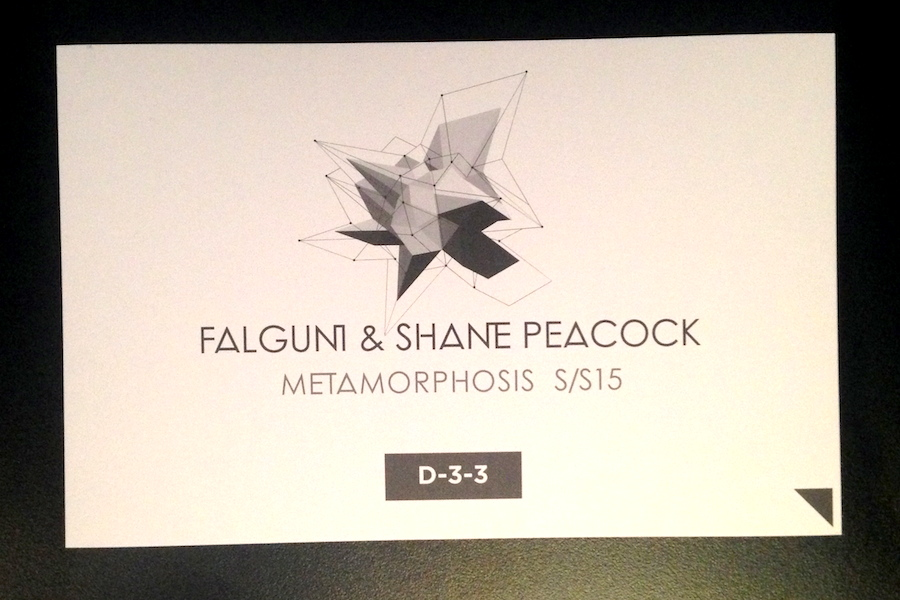 FALGUNI and SHANE PEACOCK S/S 2015